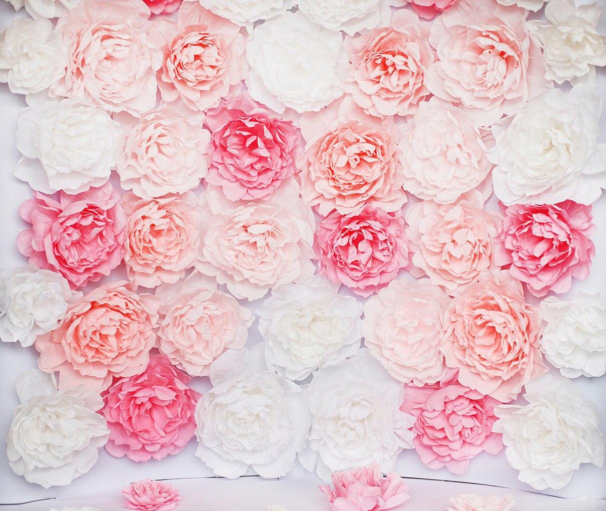 Цветы из бумаги своими руками: 4 мастер-класса, 70 фото и 2 60
