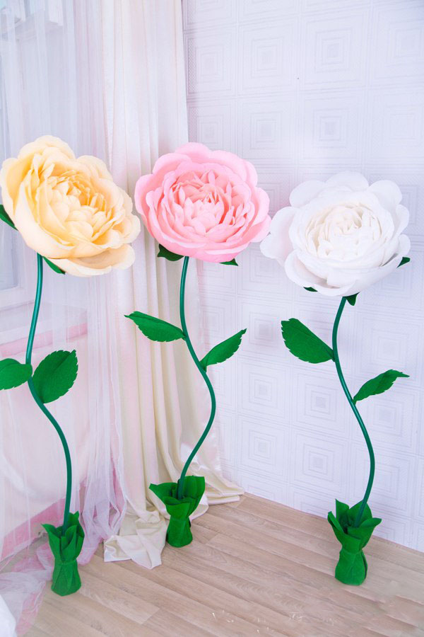 Ростовые цветы мастер класс с фото